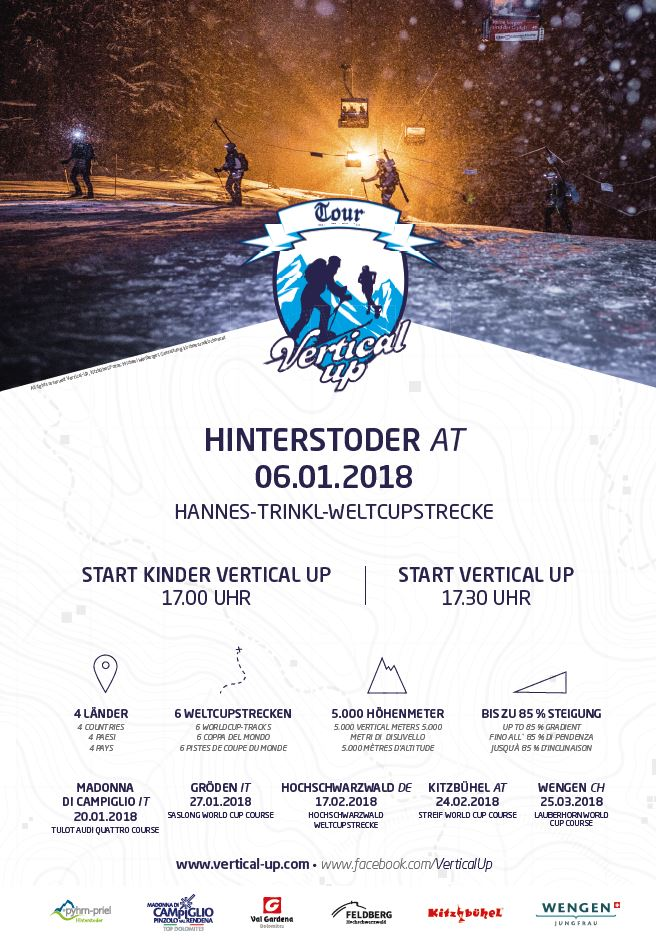 Trailer Vertical Up 2018 in Hinterstoder